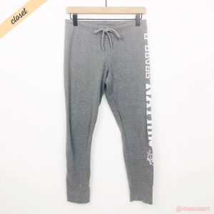 [VS Pink] Grey Pink Nation Jogger Sweatpants